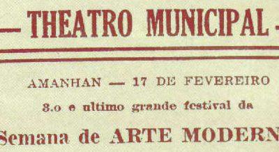 Semana de Arte Moderna de 1922 e sua importância histórica