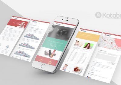 Telas Website