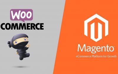 WooCommerce ou Magento: qual é a melhor plataforma de comércio eletrônico?